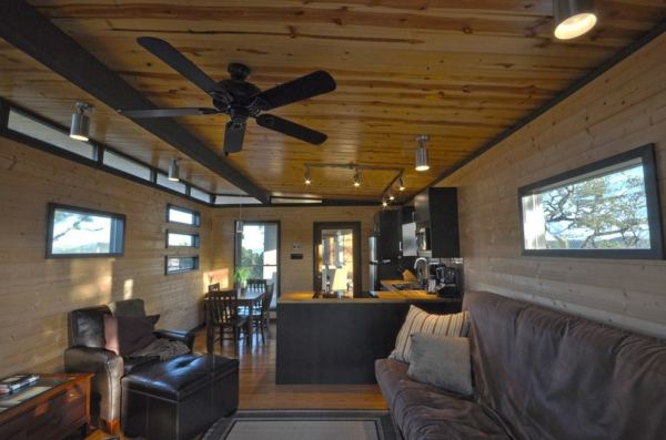 504 sq ft modern cabin great for your live work lifestyle for 14x16 living room