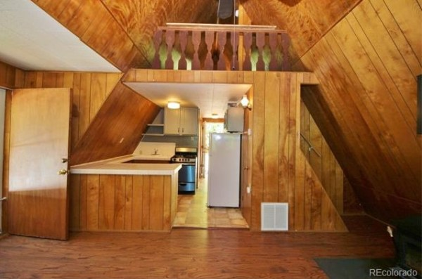 528 Sq. Ft. A-frame Cottage in Colorado