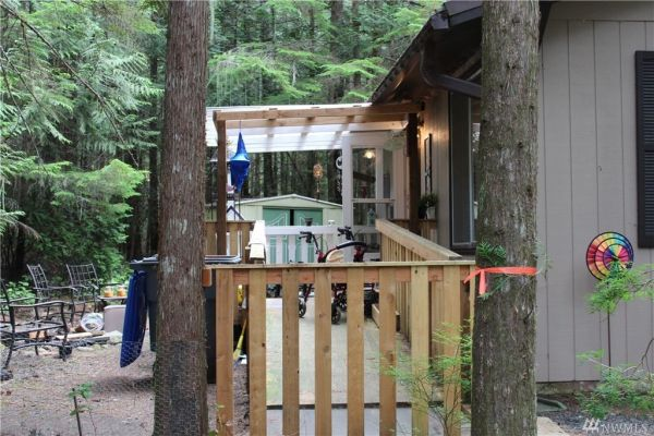 580 Sq Ft Cottage in Hoodsport