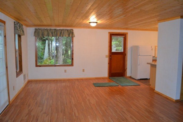 580 Sq. Ft. Tiny Cabin For Sale in Hoodsport, WA 002