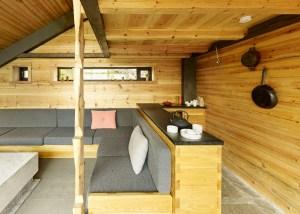kitchen in hobbit house