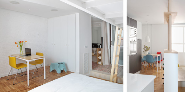 700 Sq Ft Double Studio Home Designed For Roommates