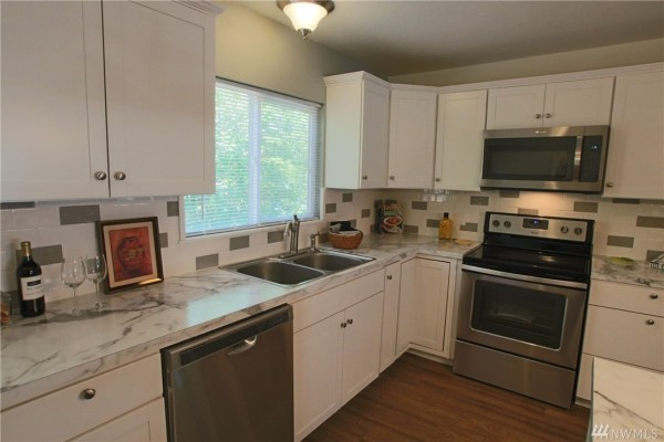 702 Sq. Ft. Humble Home in Olympia For Sale