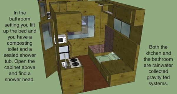 Bathroom Setup with Shower