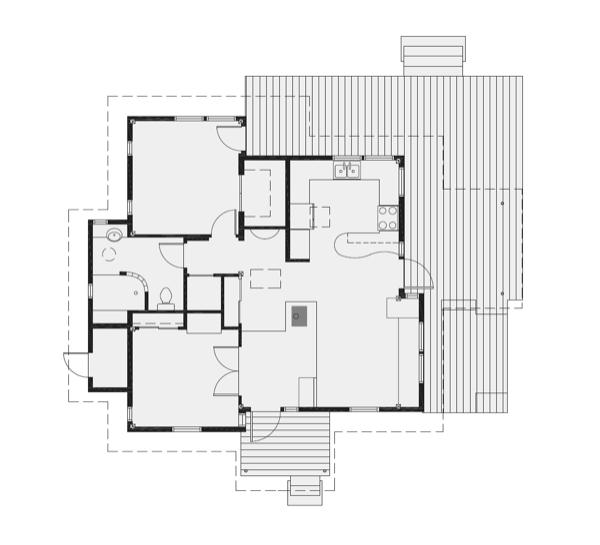 small house that feels 800 square feet dream home