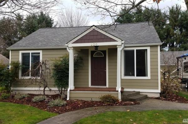 840 Sq Ft Cottage in Tumwater WA For Sale