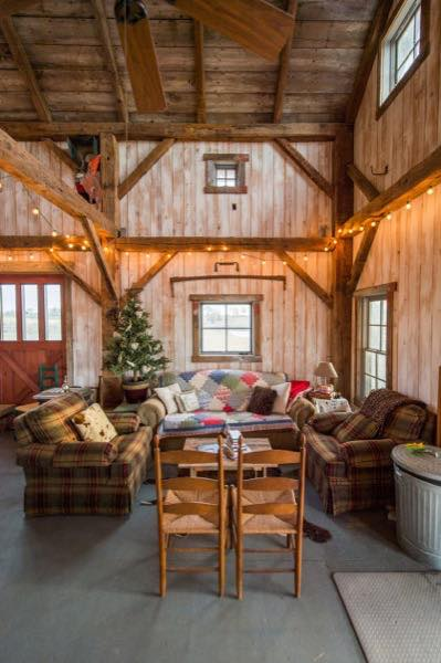 840 Sq Ft Barn To Cabin Conversion