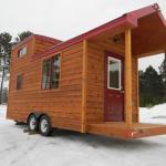 8×22 Tiny Cabin on Wheels 0023