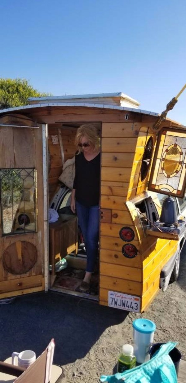 Volvo Station Wagon Tiny House!