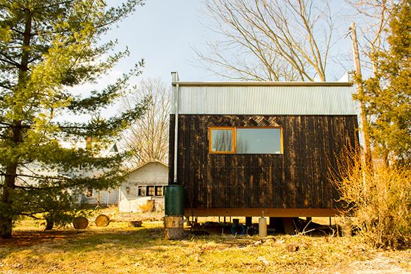 Modern ADU tiny house exterior