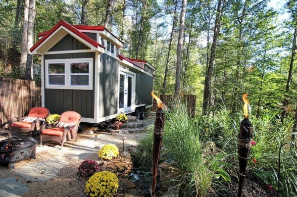 luxury tiny house for sale on 25 acres near asheville nc - Tiny Cottage For Sale