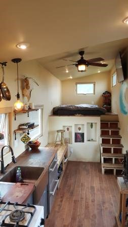 Adobe Tiny House For Sale 004