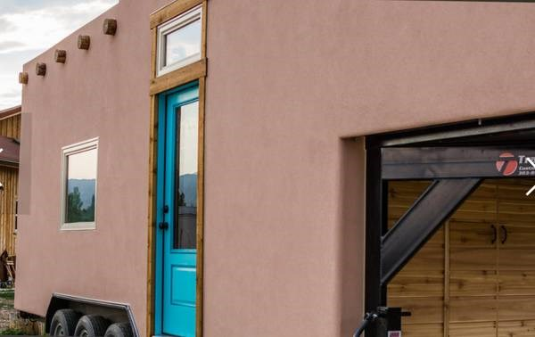 Adobe Tiny House For Sale 008