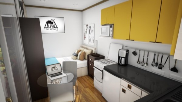 Affordable 20' Alpha Tiny Home 003