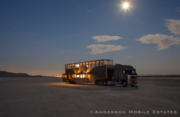 Anderson Mobile Estates Double Decker Semi Trailer 18 Wheeler Conversion
