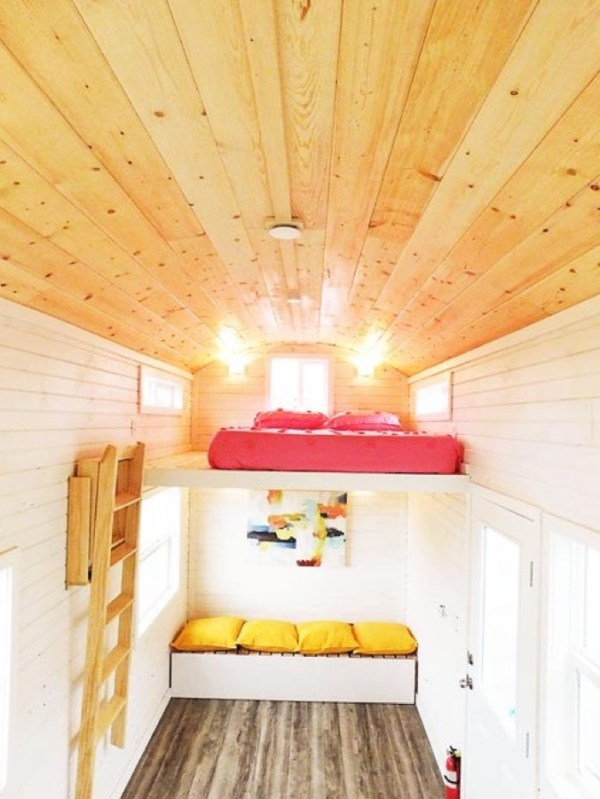 Artist 26ft Tiny House RV by Tiny Idahomes 009