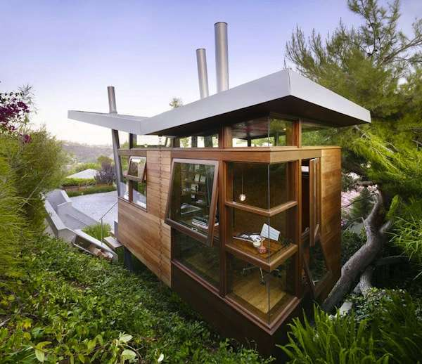 170 Sq. Ft. Modern Treehouse Micro Cabin: Would You Live Here?