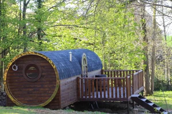 Barrel Tiny House Vacation near Paris 002