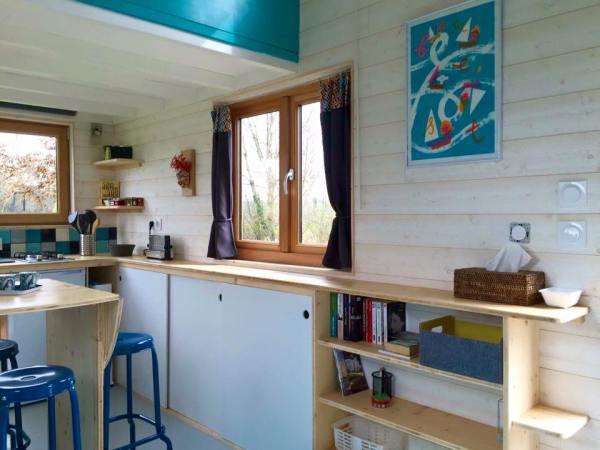 Beautiful Tiny Home on Wheels by La Tiny House 009