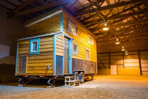 Blue Moon Tiny House by Mitchcraft Tiny Homes 001