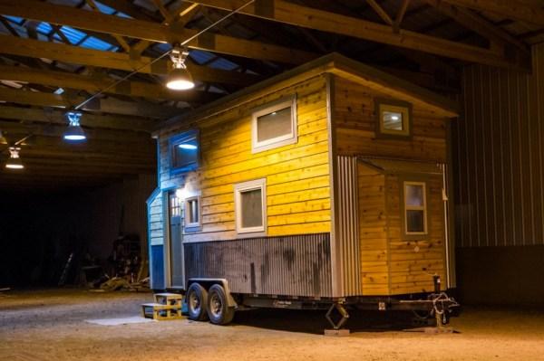 Blue Moon Tiny House by Mitchcraft Tiny Homes 0012