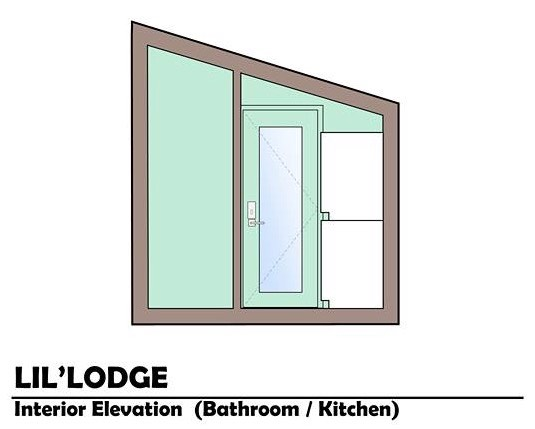Brother and Sisters Lil Lodge Tiny House on Wheels Project 0013