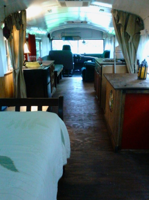 Chelie's Simple Rustic School Bus Conversion 003