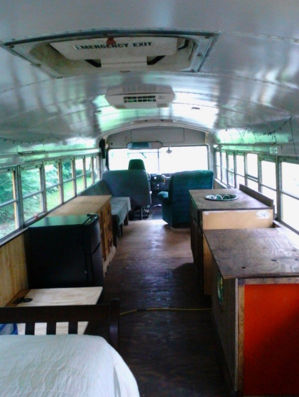 Chelle S Rustic School Bus Conversion