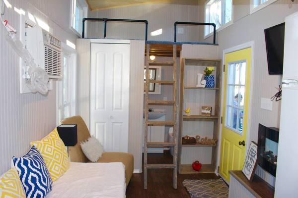 Chic Shack Yellow THOW by Mini Mansions Tiny Home Builders 0010