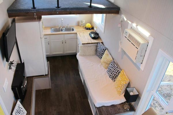 Chic Shack Yellow THOW by Mini Mansions Tiny Home Builders 0012