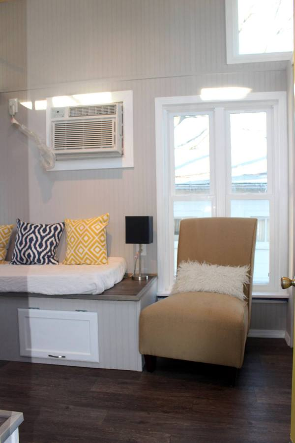 Chic Shack Yellow THOW by Mini Mansions Tiny Home Builders 002