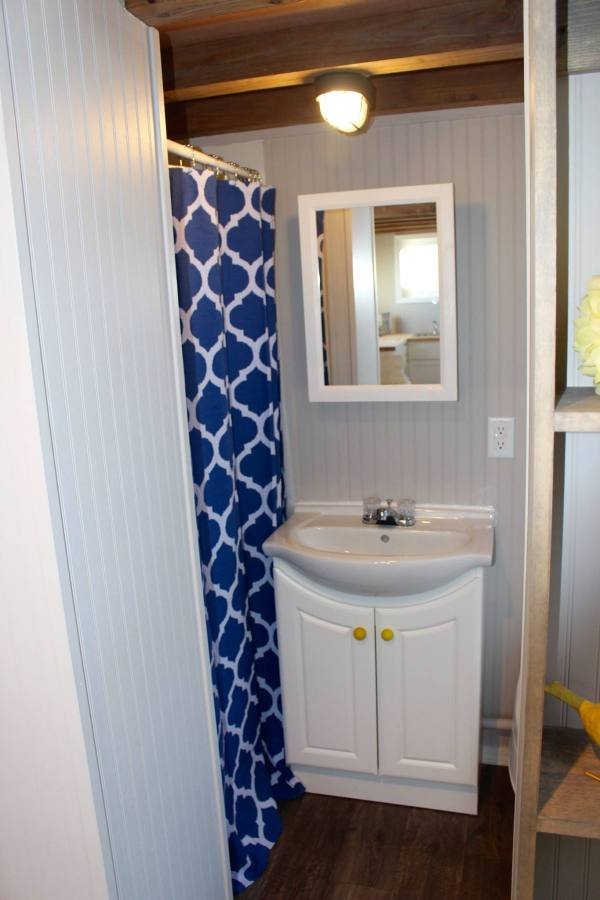 Chic Shack Yellow THOW by Mini Mansions Tiny Home Builders 0032