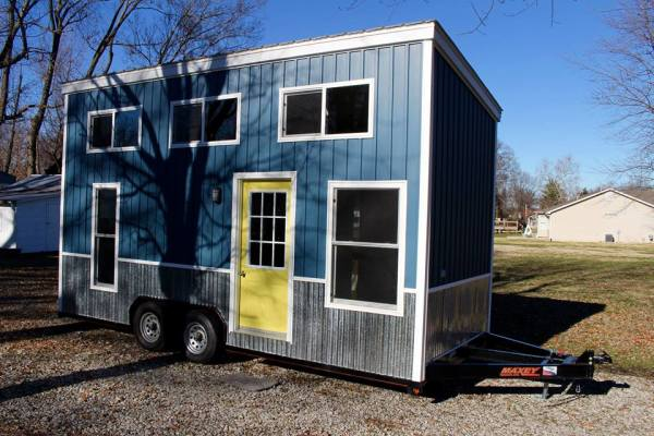 Chic Shack Yellow THOW by Mini Mansions Tiny Home Builders 0035