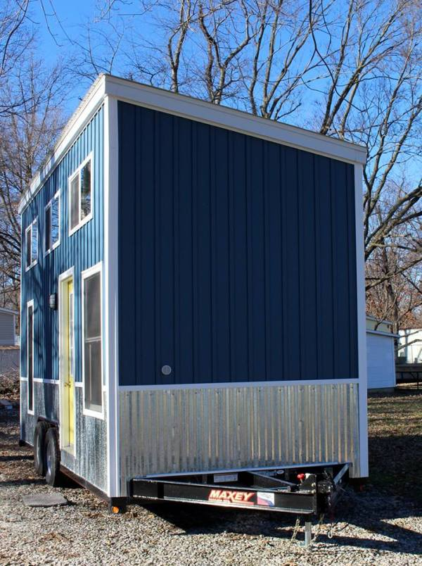 Chic Shack Yellow THOW by Mini Mansions Tiny Home Builders 0036
