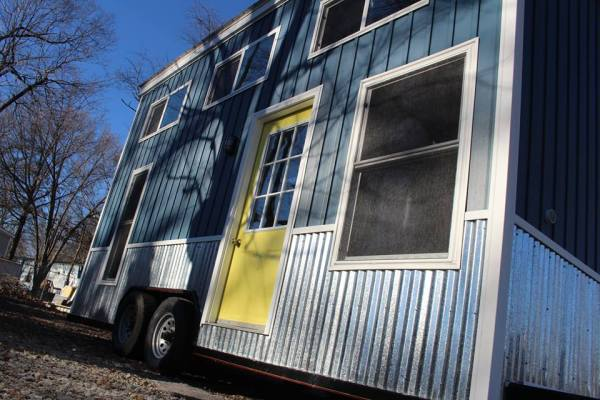 Chic Shack Yellow THOW by Mini Mansions Tiny Home Builders 0039