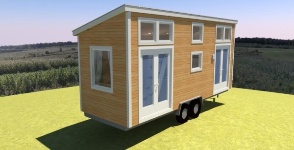 Comptche 24 Tiny House on Wheels 0010