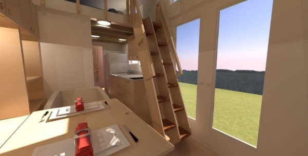 Comptche 24 Tiny House on Wheels 003