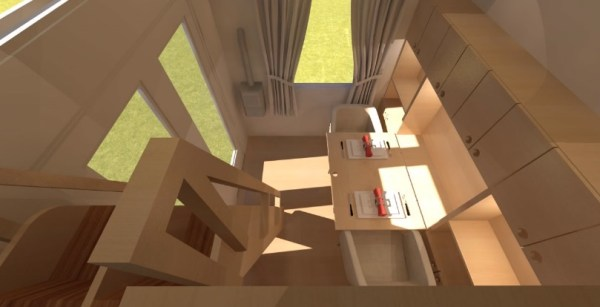Comptche 24 Tiny House on Wheels 007