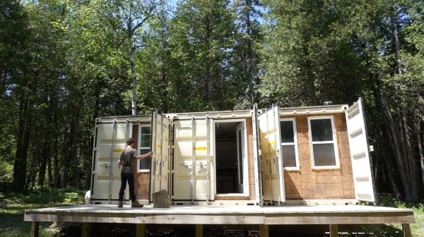 Working Title Shipping Container Cabin - Exploring Alternatives