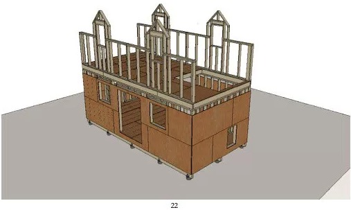 Coolinsts Cabin Framing and Sheathing Plans Preview Michael Janzen