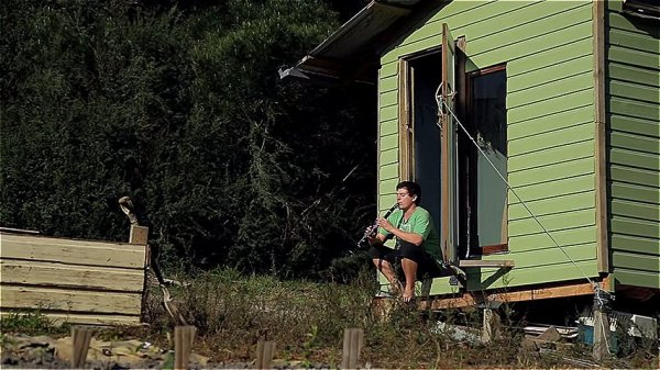 Couple Build 67 Sq Ft Tiny House for 420 using Reclaimed Materials via Happen Films 006