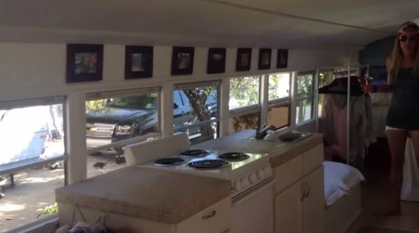 Couple-Convert-1993-School-Bus-Tiny Home-004