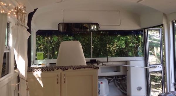 Couple-Convert-1993-School-Bus-Tiny Home-006