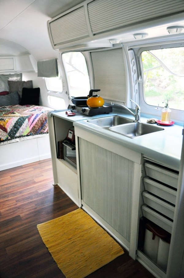 Couple Living in 78 Airstream Tiny Home 0012
