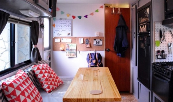 Couple Renovate Travel Trailer into Nomadic DIY Tiny Home 005