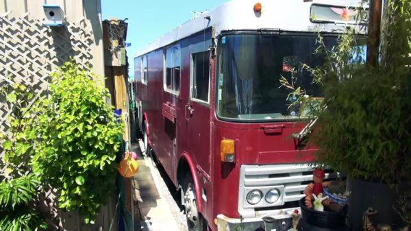 Couple go from Nomadic Converted Bus Living to Micro Homestead Life in New Zealand 001