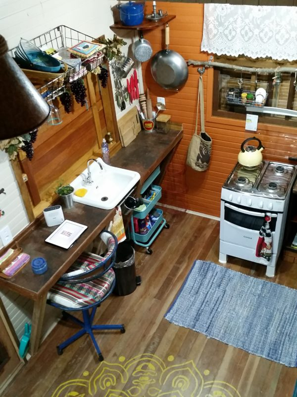 Couple's 160 Sq. Ft. Tiny Home in Brazil 005