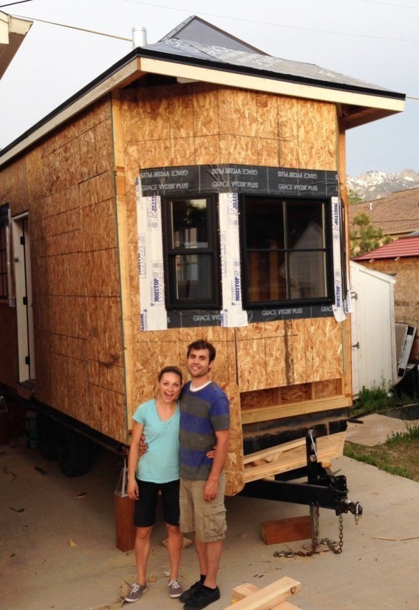 Couple's 192 Sq Ft Tiny House on Wheels in Sandy, Utah 0019
