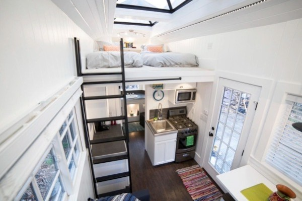 Couple's 192 Sq Ft Tiny House on Wheels in Sandy, Utah 002