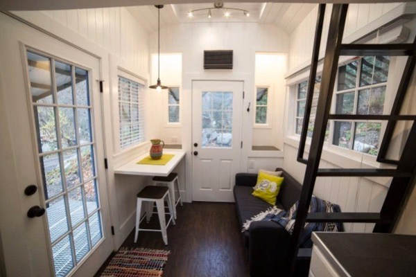 Couple's 192 Sq Ft Tiny House on Wheels in Sandy, Utah 004
